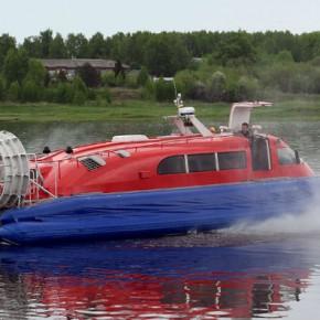 На рыбинском «Вымпеле» отремонтировали судно на воздушной подушке