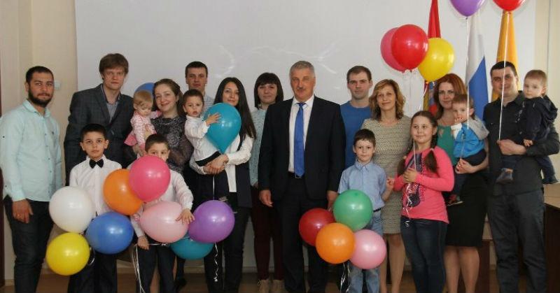 семьи в Рыбинске получили сертификаты