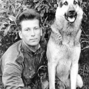 Пограничник и собака