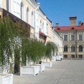 Трактир на Красной площади Рыбинска обзавелся березками