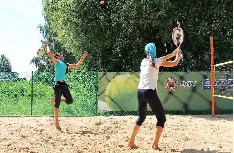 пляжный теннис в Рыбинске