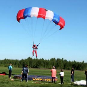 В Рыбинск съехались парашютисты со всей страны