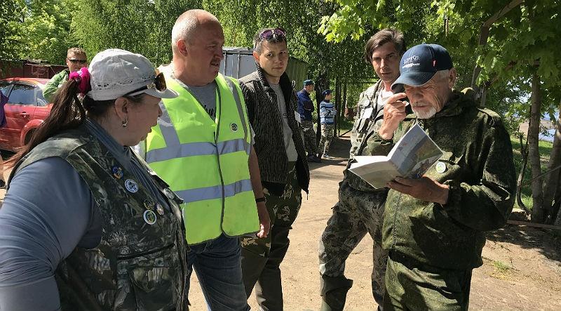 турнир по вылову сетей в Рыбинске