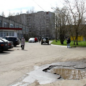 В Рыбинске ремонтируют дороги и уличное освещение