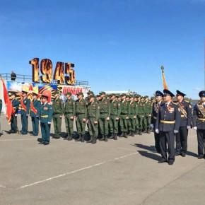 В Рыбинске состоялся парад Победы