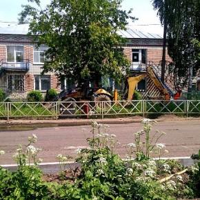 В Рыбинске начался ремонт Румянцевской улицы