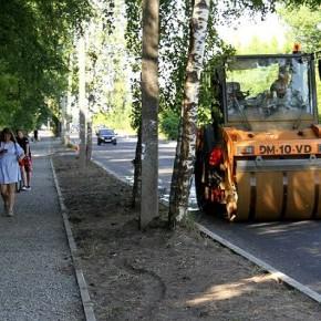 Ремонт бульвара Победы в Рыбинске подходит к концу