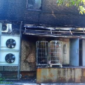 В Рыбинске горели дачи и магазин