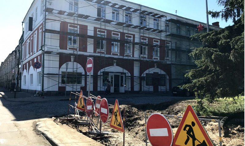 Стоялая улица в Рыбинске