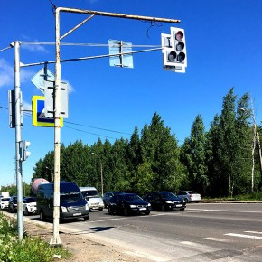 В Рыбинске ведется реконструкция 14 светофоров