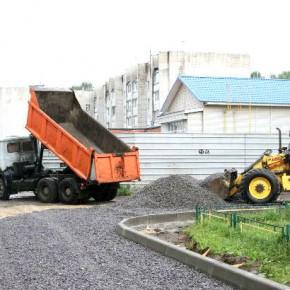 В Рыбинске ремонтируют первый двор по программе «Решаем вместе!»