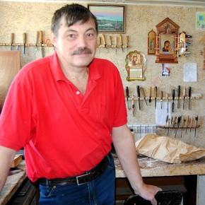 Александр Сибильков, резчик, лепщик, реставратор