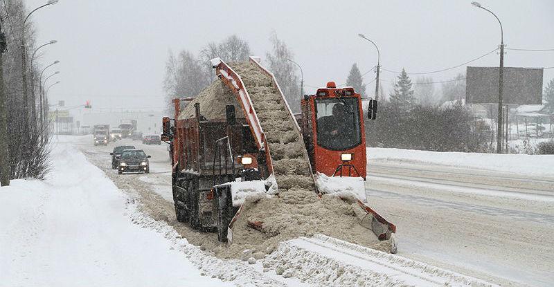 Аренда спецтехники для уборки снега